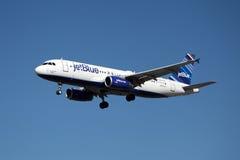 Jetblue空中客车A320 免版税库存照片