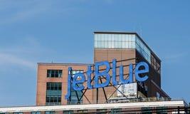 JetBlue advertisement Stock Photos