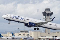 JetBlue Airbus A321 Images stock