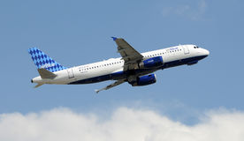 Jetblue Airbus A-320 Stock Images