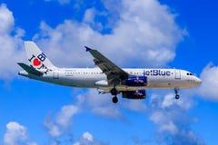 JetBlue Airbus A320 Imagem de Stock