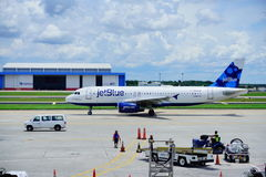 Jetblue airlines Stock Photos