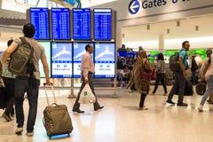 JetBlue Terminal JFK International Airport Stock Images
