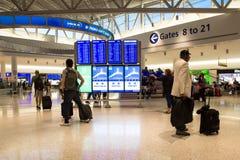 JetBlue Terminal JFK International Airport Royalty Free Stock Image