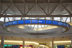 JetBlue Terminal 5 at John F Kennedy International Airport in New York Royalty Free Stock Photo