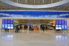 JetBlue Terminal 5 przy John F Kennedy lotniskiem międzynarodowym w Nowy Jork Fotografia Royalty Free