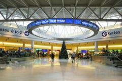 JetBlue Terminal 5 przy John F Kennedy lotniskiem międzynarodowym w Nowy Jork Obrazy Stock