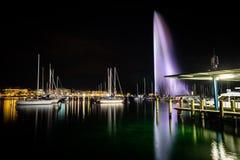 Jetdo fountain stock photo