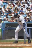 Jeter At Bat Royalty Free Stock Images