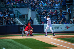 Jeter at Bat Stock Photo