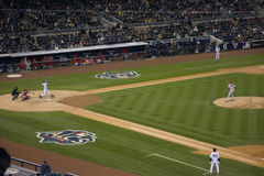 Jeter Swings ALCS Game 2 Stock Image