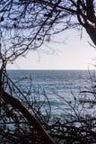Jetez un coup d'oeil dans l'océan Photographie stock libre de droits