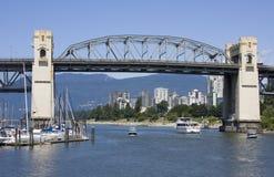 jetez un pont sur Vancouver Images stock