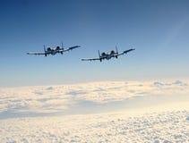 jetfighter δύο Στοκ εικόνα με δικαίωμα ελεύθερης χρήσης