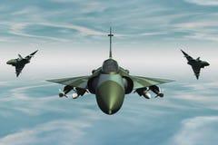 Jetfighter stock de ilustración