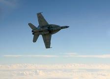 Jetfighter all'alta velocità Immagini Stock Libere da Diritti