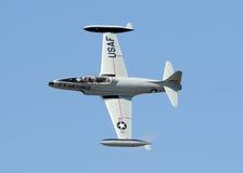 Jetfighter classico a partire dagli anni 50 Fotografia Stock
