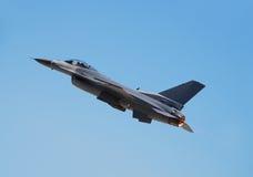 Jetfighter climbing Stock Image