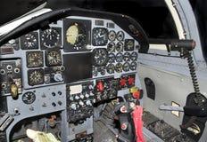 Jetfighter Cockpit Lizenzfreie Stockfotografie
