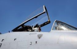 Jetfighter cockpit Stock Photo