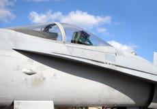 Jetfighter Cockpit Lizenzfreie Stockfotos