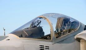 Jetfighter cockpit Stock Photos