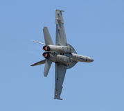 Jetfighter in flight Royalty Free Stock Photography