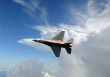 Jetfighter in the sky Stock Photo