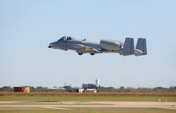 Jetfighter takeoff Royalty Free Stock Image