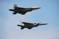 jetfighters δύο Στοκ φωτογραφίες με δικαίωμα ελεύθερης χρήσης