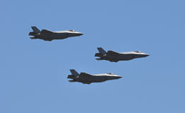 Jetfighters in flight Royalty Free Stock Photography