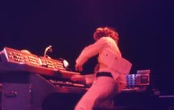 1974. Jethro Tull 05. Dänemark, Kopenhagen. Stockbilder