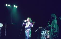 1974. Jethro Tull 01. Danmark Köpenhamn. Royaltyfri Fotografi