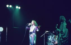 1974. Jethro Tull 01. Le Danemark, Copenhague. Photographie stock libre de droits