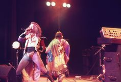 1974. Jethro Tull 07. Le Danemark, Copenhague. Photos libres de droits