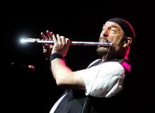 Jethro Tull Wykonuje w koncercie zdjęcie royalty free