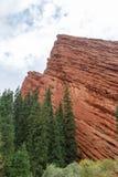 Jeti-Oguz Seven Bulls Rocks. Issyk Kul, Kyrgyzstan Stock Image