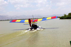 JetLev-ιπτάμενο στοκ φωτογραφίες με δικαίωμα ελεύθερης χρήσης