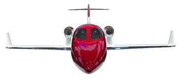 Jetliner Isolate Stock Image