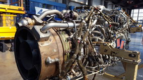 Jetmotor för ATR 72 Royaltyfri Bild