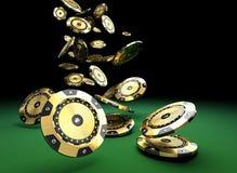 Jeton de poker de VIP illustration stock