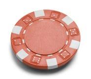 Jeton de poker rouge Image stock