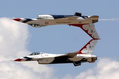Jets, Air Show Royalty Free Stock Photo
