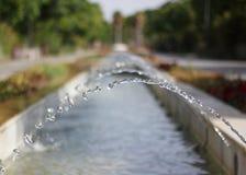 Jets d'eau Photographie stock libre de droits