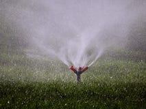 Jets de restauración del agua Imagen de archivo libre de regalías