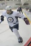 Jets de Winnipeg Images stock
