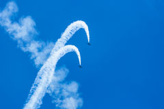 Jets des Albatros-L-39 Stockbilder