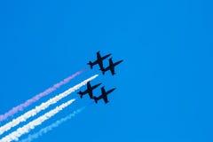 Jets des Albatros-L-39 Lizenzfreie Stockfotos