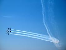 Jets en Airshow fotos de archivo