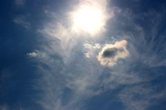 Jets ensoleillés photos libres de droits